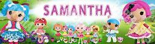 Lalaloopsy Dolls Personalized Name Banner Room Poster 8.5x30 Glossy Custom Paint