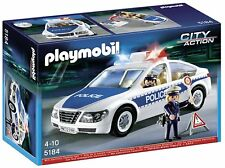 PLAYMOBIL 5184 Voiture de Police City Action avec gyrophare clignotant Neuf