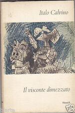 ITALO CALVINO IL VISCONTE DIMEZZATO EINAUDI1961 COPERTINA PICASSO