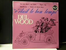 DEL WOOD Yes sir that's my baby ... RCA 75630 ( pochette dessin SOREL Voiture )