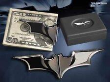 Batman The Dark Knight Rises The BATARANG Folding Money Clip Gun Metal  NN4936