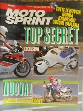 Motosprint 37 1989 Test Aprilia 125 RX Six Days - Novità SUzuki KAwasaki