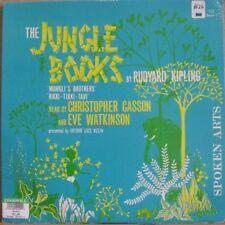 JUNGLE BOOK, KIPLING GASSON WATKINSON - SPOKEN ARTS LP