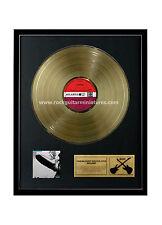 """RGM1170 Led Zeppelin Gold Disc 24K Plated LP 12"""""""