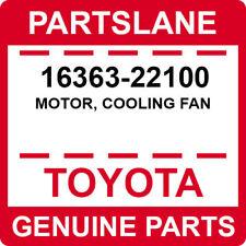 16363-22100 Toyota OEM Genuine MOTOR, COOLING FAN