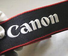 Canon EOS Digital Black Red Camera Neck Strap Genuine OEM