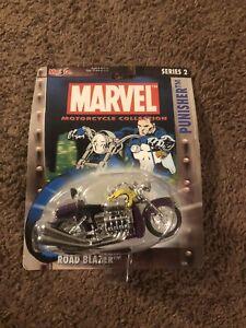 Maistro Marvel Motorcycle Collection Series 2 PUNISHER ROAD BLAZER Rare