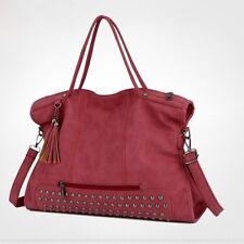 Women Faux Leather Zipper Shoulder Crossbody Bag Handbag Purse Messenger Bag QK