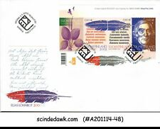 FINLAND - 2002 ELIAS LONNROT- FAMOUS POET/POETS- MINIATURE SHEET  FDC