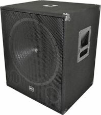 QTX Sound Qt18sa Active Powered 1000w Subwoofers Pair 18-Inch Sub Bass