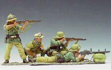 Retired King and Country Afrika Korps AK021 Machine Gun Team