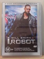 I Robot - Collector's Edition (DVD, 2-Disc Set, Region 4, 2004) *Very Good*