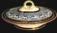 Royal Worcester Royal lily Covered Vegetable Tureen With Repair Circa 1878