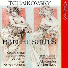 RUSSIAN PHILHARMONIA/VEDERNIKO-BALLET SUITES CD NEW+ PETER ILJITSCH TSCHAIKOWSKY