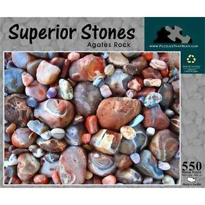 Superior Stones 550 Piece Puzzle