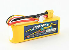New Zippy Compact 1800mAh 3S 11.1V 40C 50C Lipo Battery Pack RC XT60 XT-60 USA