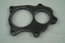 Mild Steel Exhaust Flange for Subaru Impreza TD04/5 Turbo, Split Ports