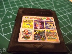 cartouche de jeu nintendo game boy color best choice 26 en 1 mario pokemon etc