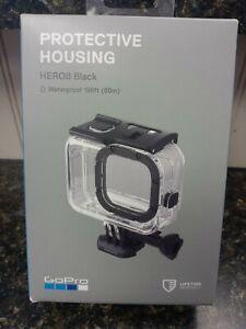 NEW! GoPro Protective Housing for Hero8 - Black Waterproof 196ft.