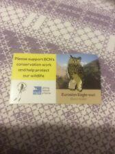 RSPB Pin Badge BCN European Eagle Owl