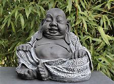 BOUDDHA FIGURE jardin, Statue Déco, statuette de sculpture en pierre