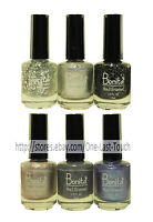 BONITA Nail Polish/Lacquer SILVER COLLECTION Enamel/Color *YOU CHOOSE* New!