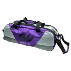 Motiv Ballistix 3 Ball Tote/Roller Purple Bowling Bag