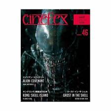 Cinefex No.46 Édition Livre Alien : Covenant Fantôme dans Le Coque Revue Wt