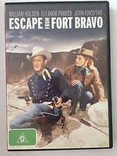 ESCAPE FROM FORT BRAVO R4 DVD Free Post