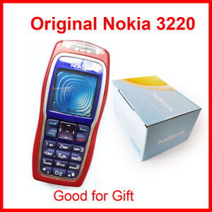 Nokia 3220 GSM 900/1800 Support Multi-Language Unlocked Cell Phone
