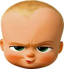The BOSS BABY (Alec Baldwin) Animated Promo Shot - BIG HEAD Window Cling Decal
