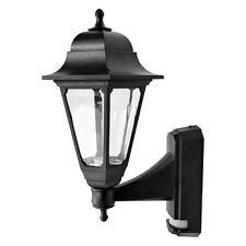 ASD CL/BK100P Coach Lantern with PIR Sensor (Black) Polycarbonate