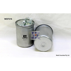 Z782 Wesfil Fuel Filter WCF215 VOLKSWAGEN VW POLO AUDI A1 1.6 TDI