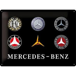 Genre Nostalgique Mercedes - Daimler - Benz Emblème 30 X 40 Licencé