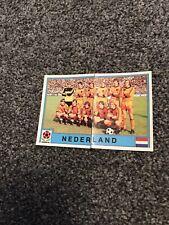 HOLLAND X2 Team EURO 80 PANINI ORIGINAL UNUSED STICKERS  #57#58In Excellent  Con