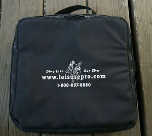 Leisure Pro Padded Zipper Scuba Dive Regulator Carry Bag Nylon 12x12 Case