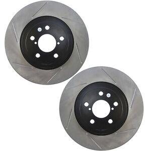 Pair Set 2 Front StopTech Slot Disc Std & Hi Brake Rotors for Scion FR-S 13-16