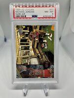 1994 Upper Deck Rare Air # 71 Michael Jordan PSA 8 Chicago Bulls Hall Of Fame 🔥
