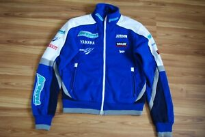 OFFICIAL GENUINE TEAM AIRWAVES YAMAHA RACING JACKET SIZE MEN LARGE JAMES ELLISON