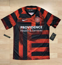 New Nike MLS Portland Thorns FC Home Soccer Jersey Men's Medium $90 Dri-Fit NWT