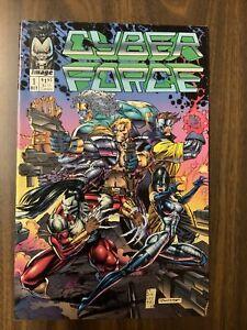 CYBERFORCE # 1 NM IMAGE COMICS 1992 MARC SILVESTRI ART