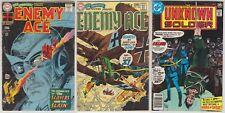 Star Spangled War ENEMY ACE Unknown Soldier 138 148 210 DC Comics Joe Kubert