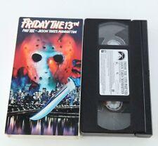Friday The 13th Part VIII Jason Takes Manhattan VHS Horror Jason Voorhees