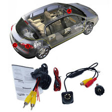 Universal 20MM Car Parking Camera Kit 8 LED Backup Rear View Cam w/ Harness New