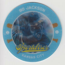 BO JACKSON 2013 Panini Hometown Heroes Baseball Sportdiscs Card #SD41 Royals