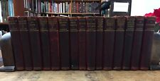 The Collected Works of Charles Darwin 1899 Authorized Ed., 3/4 Leather 15 vols.