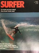 Surfer Magazine January 1975 Vintage Longboard Surfing