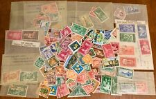 New Zealand - About 140 Mint/Used Stamps, Mostly 1940's-1950's – L (.) (.) K!