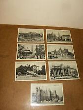 7 anciennes cartes postales , postkaart : ANVERS / ANTWERPEN
