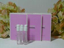 3 x CHANEL CHANCE EAU TENDRE EDT Spray Sample 0.05 oz/each.